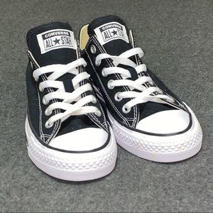 All-Star Converse Low Blk/White